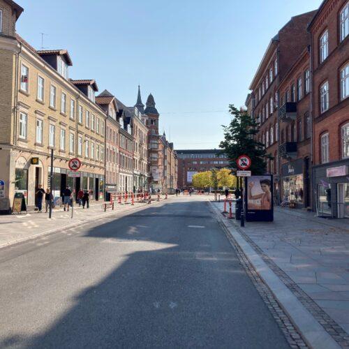 Boulevarden åbner for midlertidigt trafik