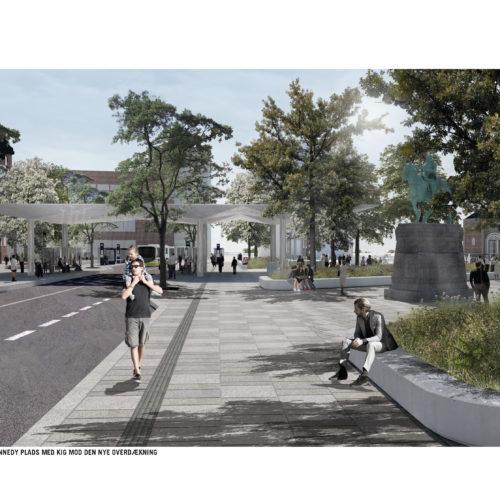Visualisering af John F. Kennedys Plads