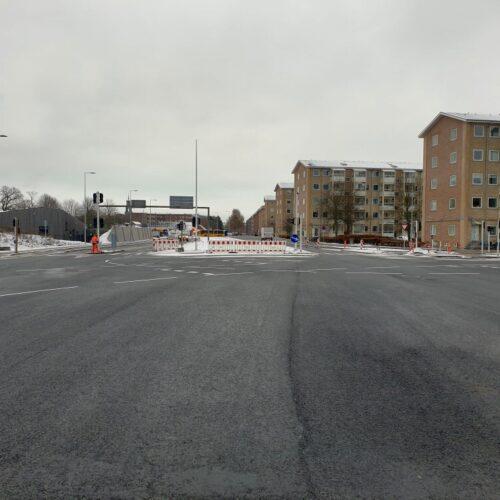 Kryds ved Jyllandsgade og Sønderbro